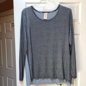 Tops - Gray/silver blouse